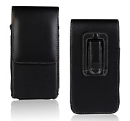 Solid Color Light Surface PU Leather Case with Waist Clip for Samsung Galaxy Ace 2 i8160