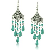 Beautiful SiliverVintage Turquoise Earrings