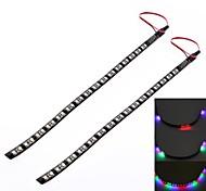 30cm 3W 200lm 32x3528smd rgb la lumière de gc® LED pour voiture ic numériser lampe de lumière décorative (dc 12v)