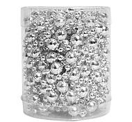 esferas / nochi 5m pingentes de prata bola de ornamentos decorações de natal feriado suprimentos cena