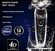 Individual 4 Rotating Blades Rechargeable Shaver