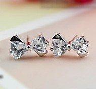 925 Sterling Silver Box Earrings