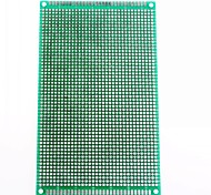 9 x 15cm Double-Sided Glass Fiber Prototyping PCB Universal Breadboard(2 pcs)