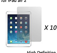 [10-Pack] Premium High Definition Clear Screen Protectors for iPad air 2