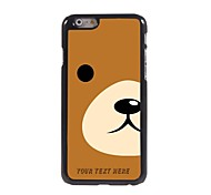 Personalized Phone Case - Half Of The Panda Face Design Metal Case for iPhone 6
