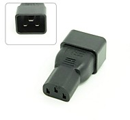 IEC320 Female C13 to Male C20 Power Mains Extension Adapter for PDU UPS 10A to 16A