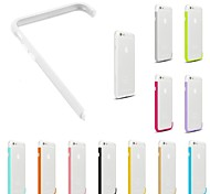 DIY White Color and Solid Color Combination Design Bumper Frame Case for iPhone 6 (Assorted Colors)