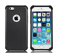 2-in-1 Hybrid Shockproof PC Hard Case with Silicone Inside Cover  for iPhone 6 (Assorted Colors)