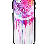 caso duro del patrón atrapasueños pigmento rojo para el iphone 6