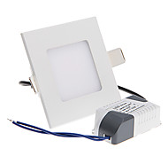 Epistar 3 W 15 SMD 2835 200-250 LM Warm White Ceiling Lights AC 85-265 V