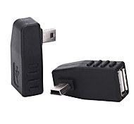 Win 0.1M 0.328FT Mini USB2.0 Male to USB2.0 Female mobile OTG adapter