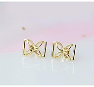 Love Is You Bow Stud Earrings