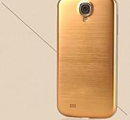 la sostituzione di alluminio metallo spazzolato portello della copertura posteriore della batteria alloggi per per i9500 di Samsung Galaxy S4