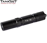 TANK007 TK18 5-Mode Cree XP-G R5 LED Outdoor Portable Flashlight (320LM, 2xCR123/ 2x16340/1x18650, Black)