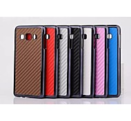 Mat Weaving Grain Pattern Plastic Cover for Motorola for Samsung Galaxy A3(Assorted Colors)