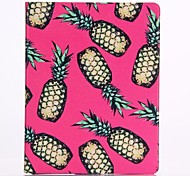 Pineapple Pattern PU Leather Full Body Case for iPad Air