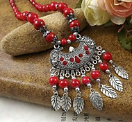 Black / Silver / Red / Blue Pendant Necklaces Party / Daily / Casual Jewelry
