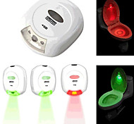 LED Sensor Motion Activated Toilet Light Bathroom Flush Toilet Lamp Battery-Operated Night Light
