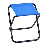 Outdoor Portable Folding Camping Fishing Aluminum + Nylon Chair - Random Color