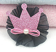 Elegant Crown Pattern Hair Accessories for Pets Dogs
