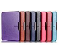 6 Inch PU Leather Case for Amazon Kindle Voyage  (Assorted Colors)