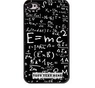 персонализированные телефон случае - формула дизайн корпуса металл для iPhone 4 / 4s