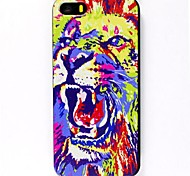 Roaring Lion Pattern Hard Case for iPhone 6
