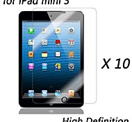 [10-Pack] Premium High Definition Clear Screen Protectors for iPad mini 3