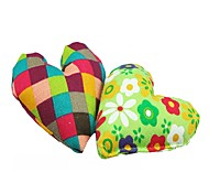 Heart Shaped Plush Toy For Pet Dogs(Random Colour)