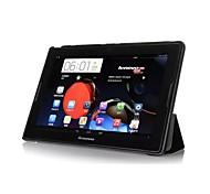 pajiatu pu grano di seta in pelle tablet basamento custodia protettiva della pelle della copertura per Lenovo IdeaTab A7600 a10-70 (colori assortiti)