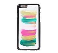 Colourful Stripe Design Aluminium Hard Case for iPhone 6