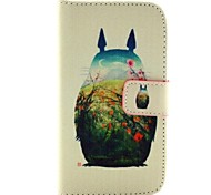 Flower foot bottle Pattern PU Leather Flip-open Full Body Case with Stand   forMotorola Moto G
