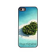 Personalized Phone Case - Heart Sea Design Metal Case for iPhone 5/5S