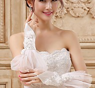 Fingerless Glove - Tulle Bridal Gloves