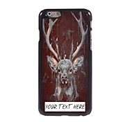 Personalized Phone Case - Deer Design Metal Case for iPhone 6