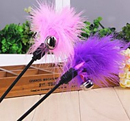 Dogs / Cats Toys Teaser / Feather Toy Stick Textile