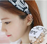 Love Is Your Fashion New Butterfly Flower Diamond Ear Bones Clip