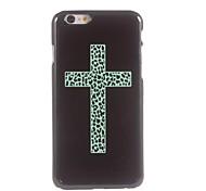 Blue Cross Design Aluminium Hard Case for iPhone 6