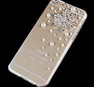 Per Custodia iPhone 6 / Custodia iPhone 6 Plus Con diamantini / Transparente Custodia Custodia posteriore Custodia Cartone 3D Resistente