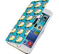 Sheep Motifs Magnetic Flip Full Body Case with Hole for iPhone 6