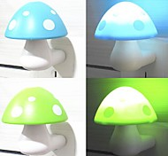 LED Mushroom Induction  Night Light(Random Color)