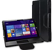 suoshi 12 Zoll PU-Leder Tablet PC Tasche Hülle mit Bluetooth-Tastatur für die Oberflächen Pro 3