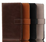 5 Inch Luxury Pattern Wallet Leather Case for Sony L39h(Xperia Z1) (Assorted Colors)