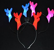 Christmas Party Cute Deer Antlers Hat with LED Light Hair Head Band