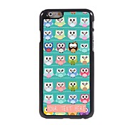 Personalized Phone Case - A Lot Of Owls Design Metal Case for iPhone 6