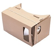DIY Cardboard Virtual Reality 3D Glasses for iPhone 6 Plus / Samsung Galaxy Note 4 / Note 3/ LG G3 / Nokia / MOTO