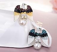 moda vintage perla spilla aquila