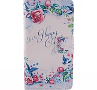 Only Beautiful Pure Design PU Leather Full Body Case with Stand for Sony Xperia M2