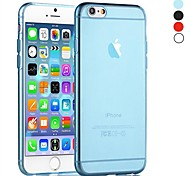 Crystal Clear Transparent TPU Soft Back Cover for iPhone 6S Plus/6 Plus