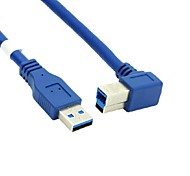 1M USB 3.0 A Male to USB 3.0 B Male Print Cable